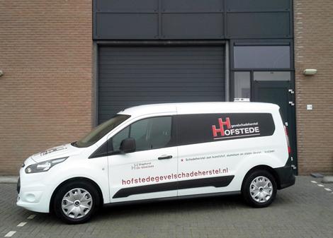 Onze nieuwe serviceauto